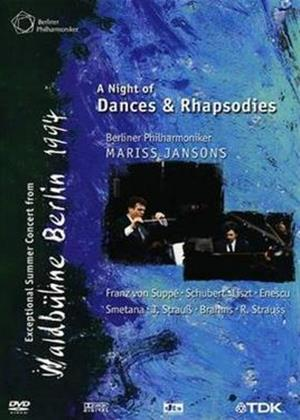 Rent Waldbuhne 1994: Mariss Jansons: Dance and Rhapsodies Online DVD & Blu-ray Rental