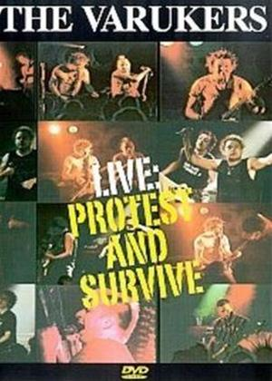 Rent The Varukers: Protest and Survive: Live Online DVD Rental