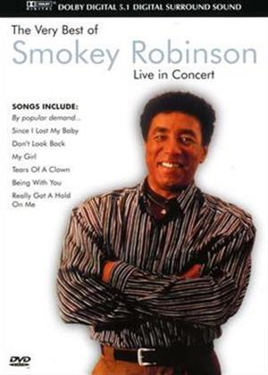 Rent Smokey Robinson: The Very Best Of: In Concert Online DVD Rental