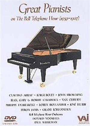 Rent Great Pianists of the Bell Telephone Hour Online DVD Rental