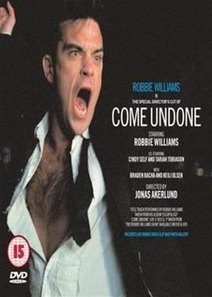 Rent Robbie Williams: Come Undone Online DVD Rental