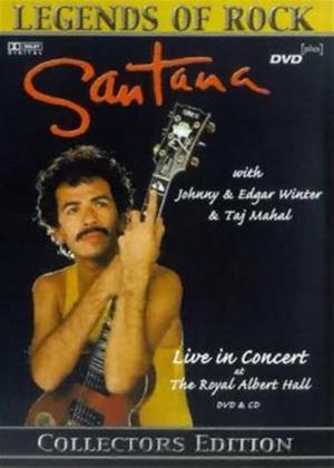 Rent Santana: Legends of Rock Online DVD Rental