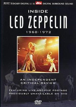 Rent Led Zeppelin: Inside Led Zeppelin Online DVD Rental