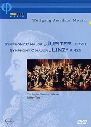 Rent Mozart: Symphony in C Major Jupiter / Symphony in C Major Linz Online DVD Rental
