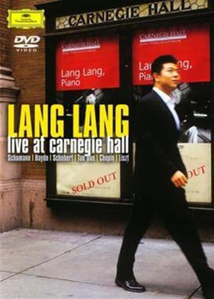 Rent Lang Lang: Live at Carnegie Hall Online DVD Rental