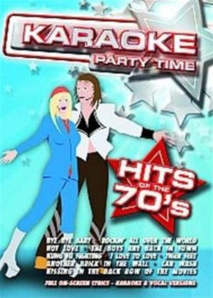 Rent Karaoke Party Time: Hits of the 70s Online DVD Rental