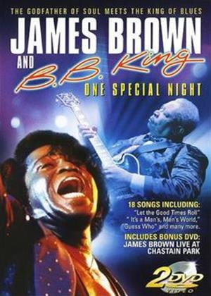 Rent James Brown and BB King: One Special Night Online DVD Rental
