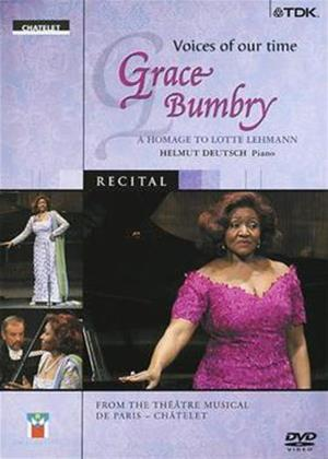 Rent Grace Bumbry: Voices of Our Time Online DVD Rental
