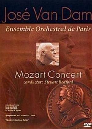 Rent Jose Van Dam: Mozart Concert Online DVD Rental