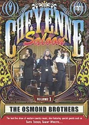 Rent The Osmond Brothers: Cheyenne Saloon Online DVD Rental