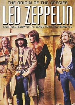 Rent Led Zeppelin: The Origin of The Species: A Critical Review Online DVD Rental