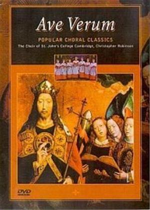 Rent Ave Verum: Popular Choral Classics Online DVD Rental