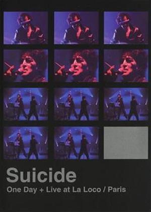 Rent Suicide: One Day / Live at La Poco: Paris Online DVD Rental