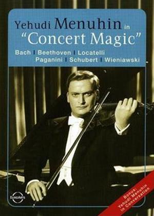 Rent Yehudi Menuhin: Concert Magic Online DVD Rental