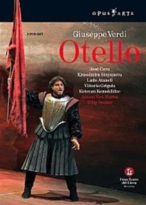 Rent Verdi: Otello: Liceu Barcelona Online DVD Rental