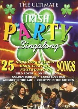 Rent The Ultimate Irish Party Singalong Online DVD Rental