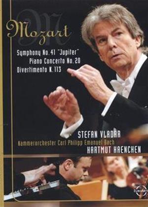 Rent Mozart: Symphony No. 41 / Piano Concerto No. 20 / Divertimento Online DVD Rental