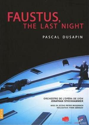 Rent Dusapin: Faustus, the Last Night Online DVD Rental