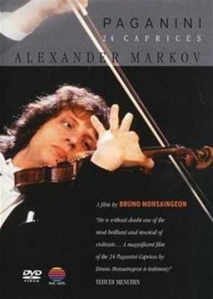 Rent Alexander Markov: Paganini's 24 Caprices Online DVD Rental
