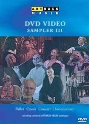 Rent Arthaus Musik DVD Video Sampler 3 Online DVD Rental