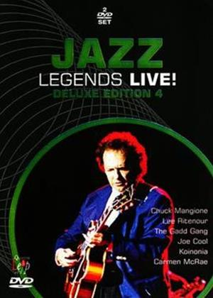 Rent Jazz Legends Live!: Deluxe Edition 4 Online DVD Rental
