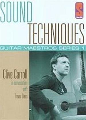 Rent Sound Techniques: Guitar Maestros Series 1: Clive Carroll Online DVD Rental