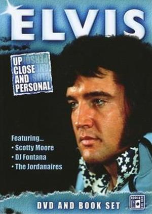 Rent Elvis Presley: Up Close and Personal Online DVD Rental