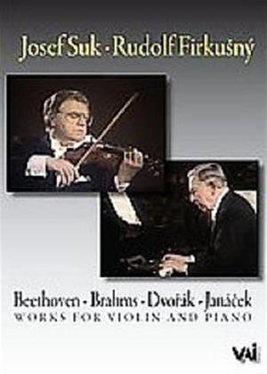 Rent Josef Suk/Rudolf Firkusny: Play Works for Violin and Piano Online DVD Rental