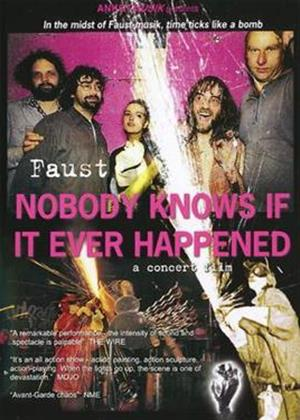 Rent Faust: Nobody Knows If It Ever Happened Online DVD Rental
