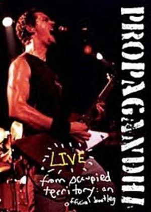 Rent Propagandhi: Live from Occupied Territory Online DVD Rental
