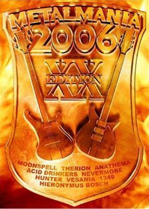 Rent Metalmania 2006 Online DVD Rental