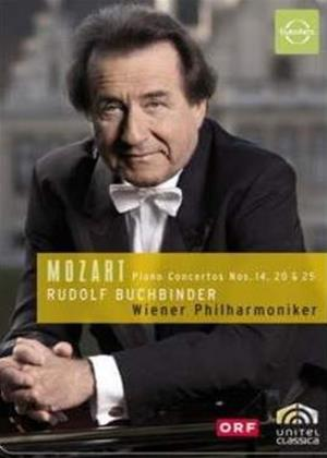 Rent Mozart: Piano Concertos: Vol.2: No.14, 20 and 25 Online DVD Rental