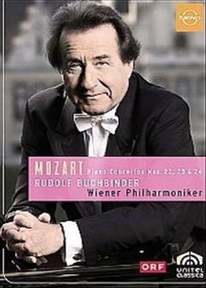 Rent Mozart: Piano Concertos Nos.22, 23 and 24 (Buchbinder) Online DVD Rental