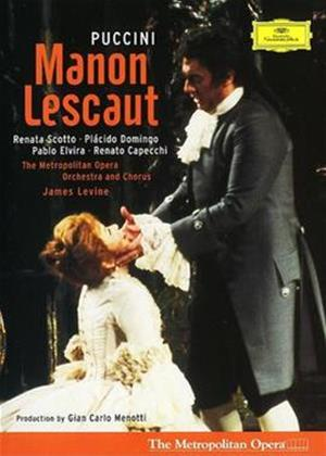 Rent Puccini: Manon Lescaut: The Metropolitan Opera (Levine) Online DVD & Blu-ray Rental