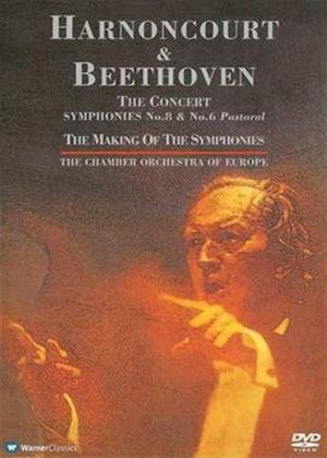 Rent Beethoven: Symphonies No. 8 and 6 (Harnoncourt) Online DVD Rental