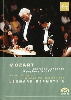 Rent Mozart: Clarinet Concerto/Symphony No. 25: Bernsetin Online DVD Rental