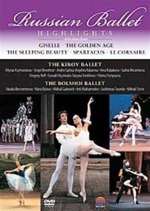Rent Bolshoi Ballet/Kirov Ballet: Russian Ballet Highlights Online DVD Rental