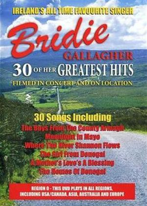 Rent Bridie Gallagher: 30 of Her Greatest Hits Online DVD Rental