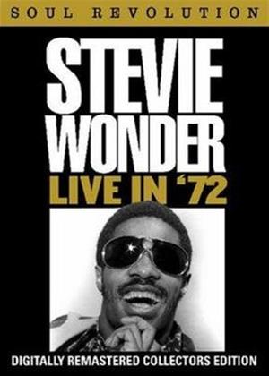 Rent Stevie Wonder: Live in '72 Online DVD Rental