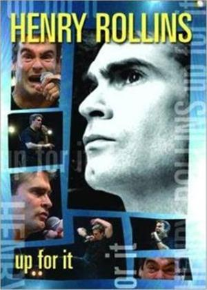 Rent Henry Rollins: Up for It Online DVD Rental