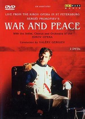 Rent Prokofiev: War and Peace: Kirov Opera Online DVD Rental