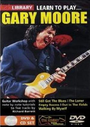 Rent Lick Library: Learn to Play Gary Moore Online DVD Rental