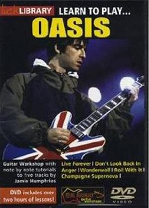 Rent Lick Library: Learn to Play Oasis Online DVD Rental