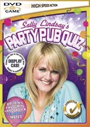 Rent Sally Lindsay Pub Quiz DVD Game Online DVD Rental