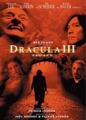 Rent Dracula III: Legacy Online DVD Rental