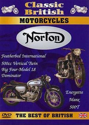 Rent Classic British Motorcycles: Norton Online DVD Rental