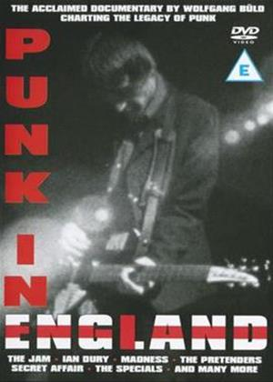 Rent Punk in England (aka British Rock / Punk and Its Aftershocks) Online DVD Rental