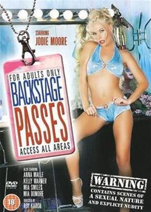 Rent Backstage Passes Online DVD Rental
