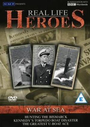 Rent Real Life Heroes: Heroes of War at Sea Online DVD Rental