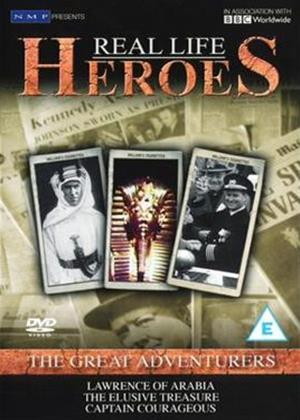 Rent Real Life Heroes: Great Adventurers Online DVD Rental